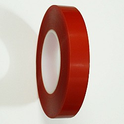 Red Tacky double sided Tape (1 inch or 24 mm)