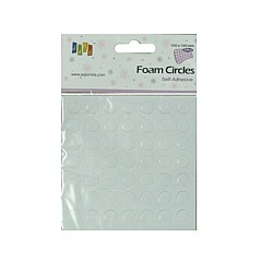 Self Adhesive Foam Squares - Small Circles