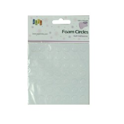 Self Adhesive Foam Squares - Small Circles