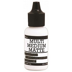 Ranger Mini Multi Medium - Matte Glue Adhesive Paint (0.5 oz)