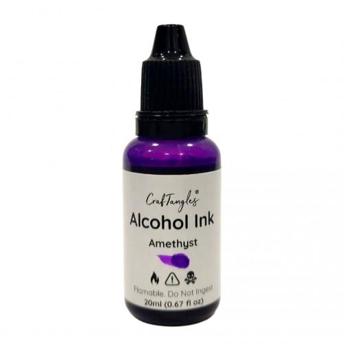 CrafTangles Alcohol Inks (20 ml) - Amethyst