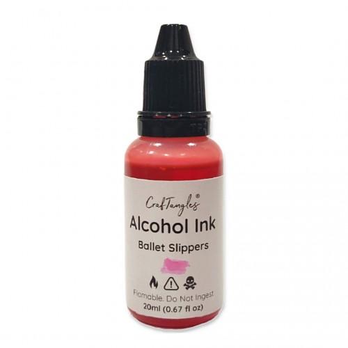 CrafTangles Alcohol Inks (20 ml) - Ballet Slippers