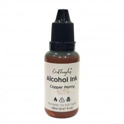 CrafTangles Metallic Alcohol Inks (20 ml) - Copper Penny