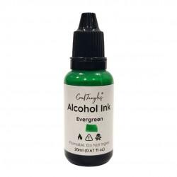CrafTangles Alcohol Inks (20 ml) - Evergreen