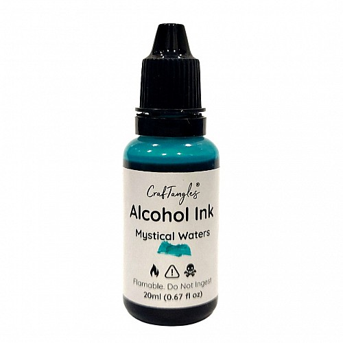 CrafTangles Alcohol Inks (20 ml) - Mystical Waters