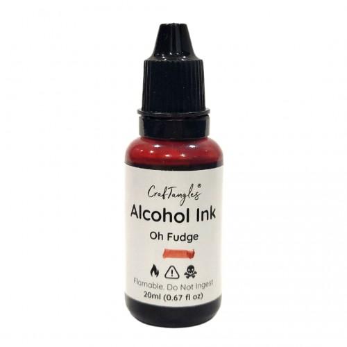 CrafTangles Alcohol Inks (20 ml) - Oh Fudge