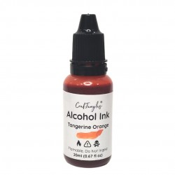 CrafTangles Alcohol Inks (20 ml) - Tangerine Orange