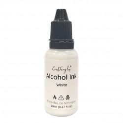 CrafTangles Alcohol Inks (20 ml) - White
