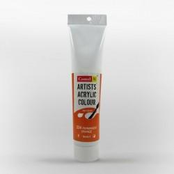 Camel Artist Acrylic Colour 120ml Tube - Permanent Orange