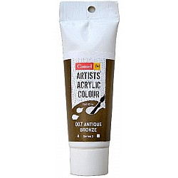 Camel Artist Acrylic Colour 40ml Tube - Antique Bronze