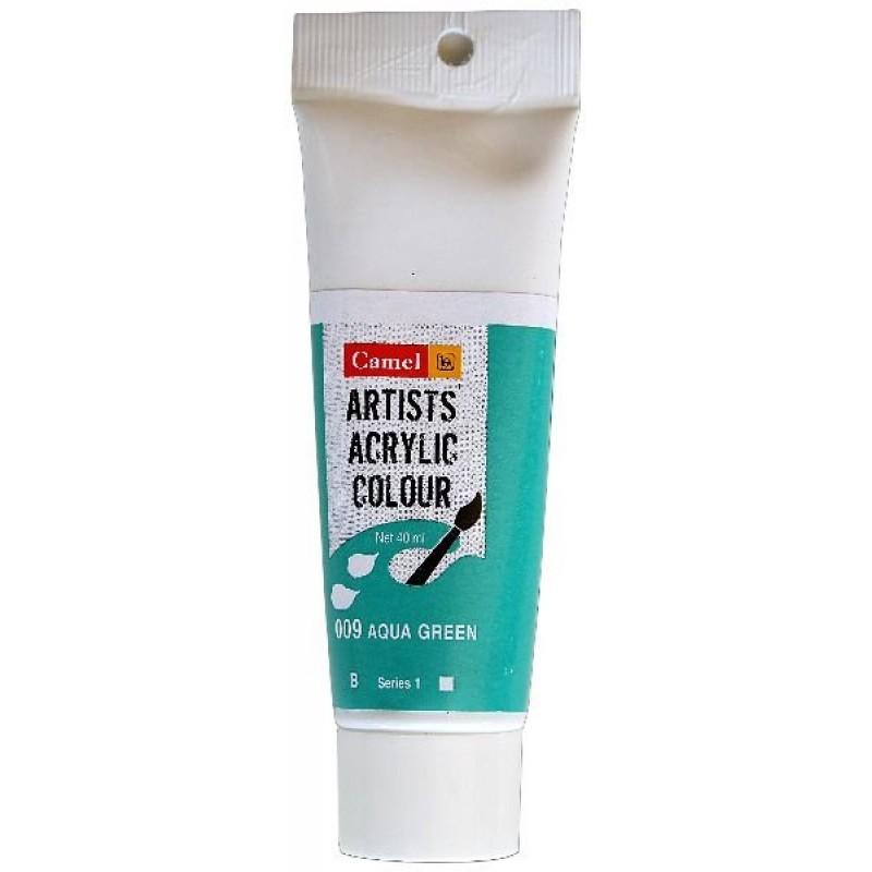 Buy Camel Artist Acrylic Colour 40ml Tube Aqua Green