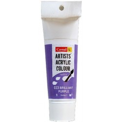 Camel Artist Acrylic Colour 40ml Tube - Brilliant Purple
