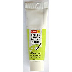 Camel Artist Acrylic Colour 40ml Tube - Brilliant Yellow Green