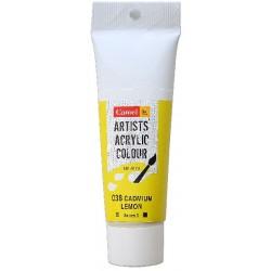 Camel Artist Acrylic Colour 40ml Tube - Cadmium Lemon
