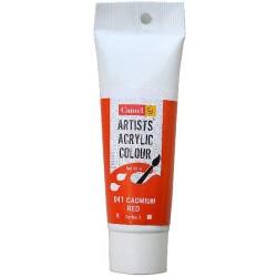Camel Artist Acrylic Colour 40ml Tube - Cadmium Red