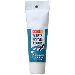 Camel Artist Acrylic Colour 40ml Tube - Cerulean Blue Hue
