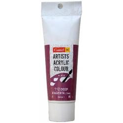 Camel Artist Acrylic Colour 40ml Tube - Deep Magenta