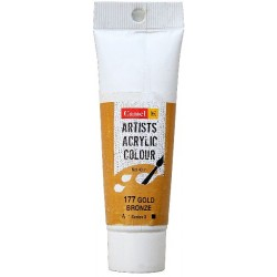 Camel Artist Acrylic Colour 40ml Tube - Gold Bronze