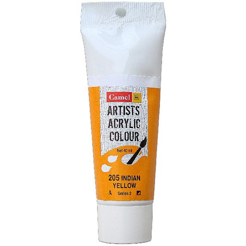 Buy Camel Artist Acrylic Colour 40ml Tube Indian Yellow