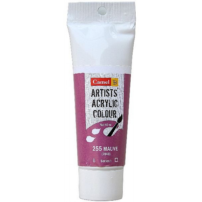 Buy Camel Artist Acrylic Colour 40ml Tube Mauve Online