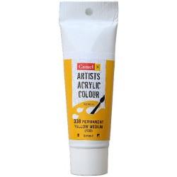 Camel Artist Acrylic Colour 40ml Tube - Permanent Yellow Medium