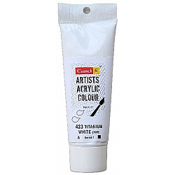 Camel Artist Acrylic Colour 40ml Tube - Titanium White