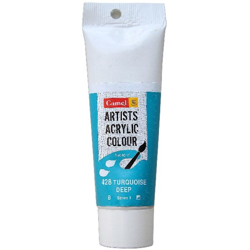 Buy Camel Artist Acrylic Colour 40ml Tube Turquoise Deep