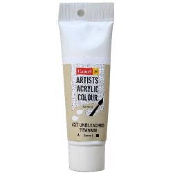 Camel Artist Acrylic Colour 40ml Tube - Unbleached Titanium