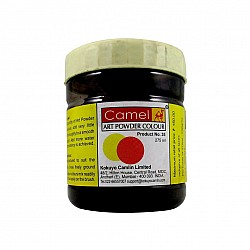 Camel Art Powder Colors - 016 - Black  (275 ml)