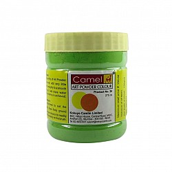 Camel Art Powder Colors - 022 - Brilliant Green (275 ml)