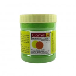 Camel Art Powder Colors - 022 - Brilliant Green (275 ml)