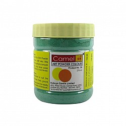 Camel Art Powder Colors - 117 - Emerald Green  (275 ml)