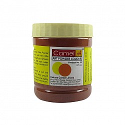 Camel Art Powder Colors - 201 - Indian Red  (275 ml)