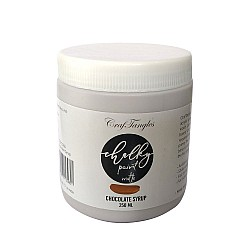CrafTangles Chalky Paint - Chocolate Syrup (250 ml)