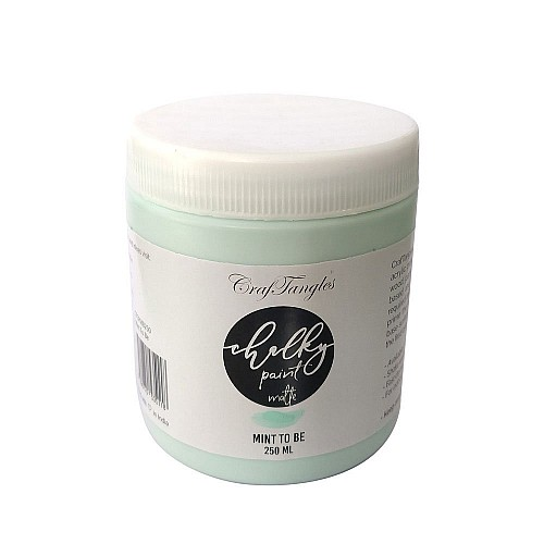 CrafTangles Chalky Paint - Mint To Be (250 ml)