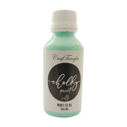 CrafTangles Chalky Paint - Mint to Be (100 ml)