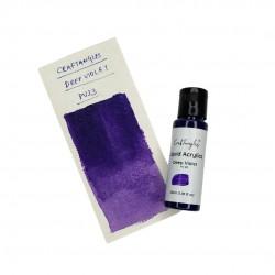CrafTangles Liquid Acrylics / Acrylic Inks 30 ml - Deep Violet