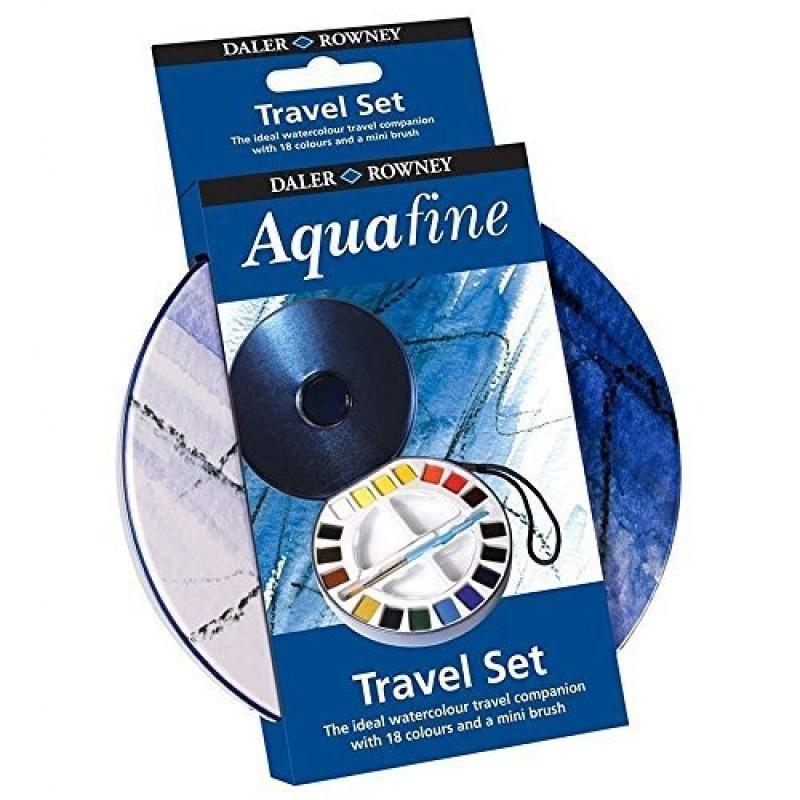 Buy Daler Rowney Aquafine Watercolour Travel Set