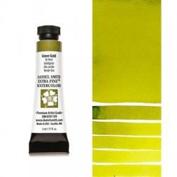 Daniel Smith Extra fine watercolors 5 ml tube - Green Gold