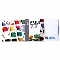 Hakims Watercolors - 12 Colors