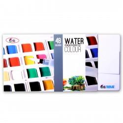 Hakims Watercolors - 48 Colors
