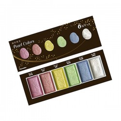 Zig Kuretake Gansai Tambi Pearl Colors Watercolor Set