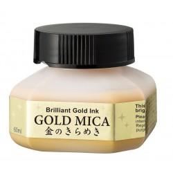 Zig Gold Mica Ink 60ML