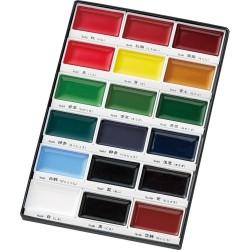 Zig Kuretake Gansai Tambi 18 Color Painting Set