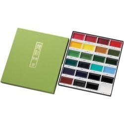 Zig Kuretake Gansai Tambi 24 Color Painting Set