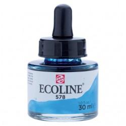 Talens Ecoline Liquid Watercolour 30ml - Sky Blue Cyan