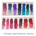 CrafTangles liquid watercolor (15 ml) - Grape Jelly