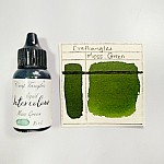 CrafTangles liquid watercolor (15 ml) - Moss Green
