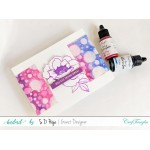 CrafTangles liquid watercolor (15 ml) - Pretty Peony