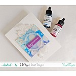 CrafTangles liquid watercolor (15 ml) - Pretty Peony